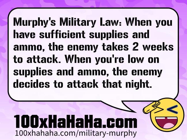 Murphys military law