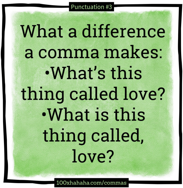 Love Each Other When Two Souls: Fun With Punctuation+image