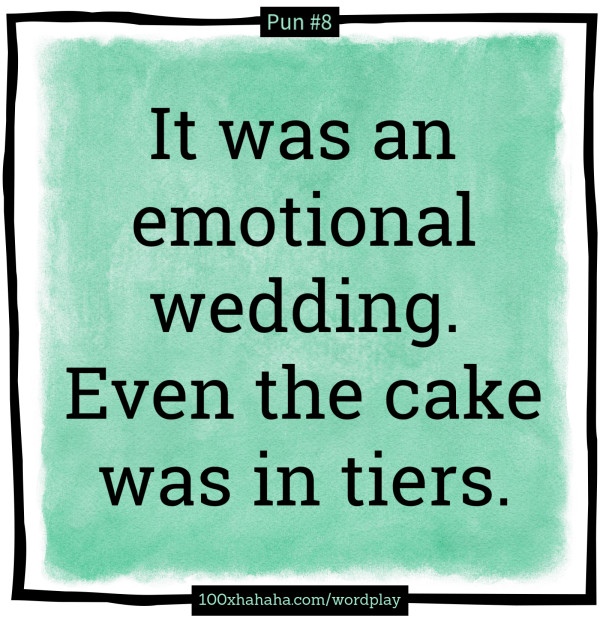 Joke Wedding Cake