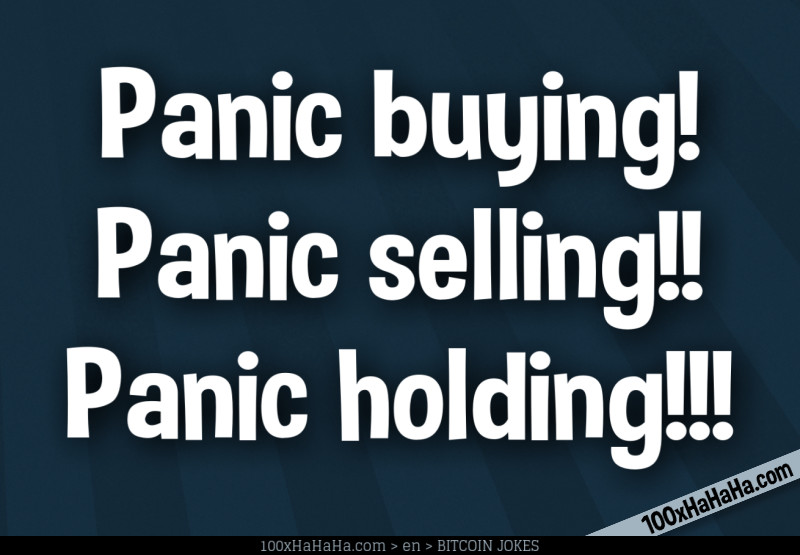 cryptocurrency panic selling