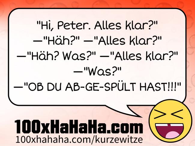 Kurze Deutsche Sprüche Na Alles Klar Häh Alles Klar Häh