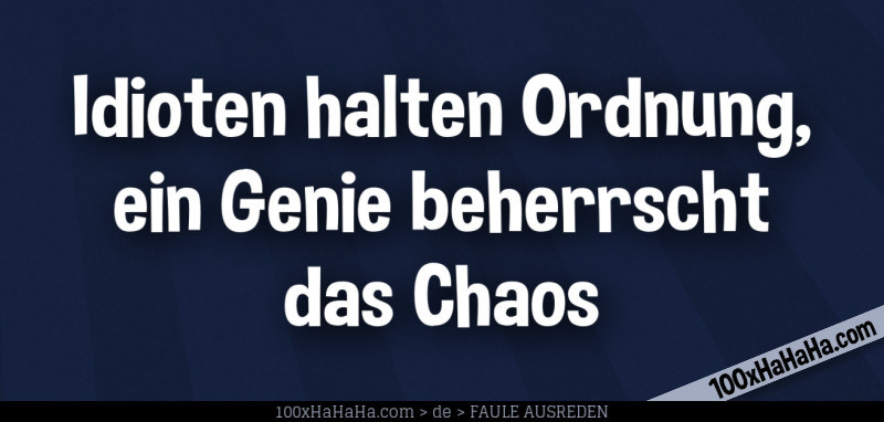 Excuses and jokes about laziness in German+Images ...
