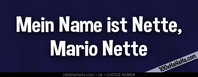 Lustige frauennamen